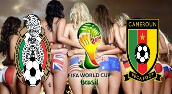 Prediksi Skor Terjitu Meksiko vs Kamerun  jadwal 13 Juni 2014