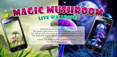 Magic Mushrooms Live Wallpaper v1.05