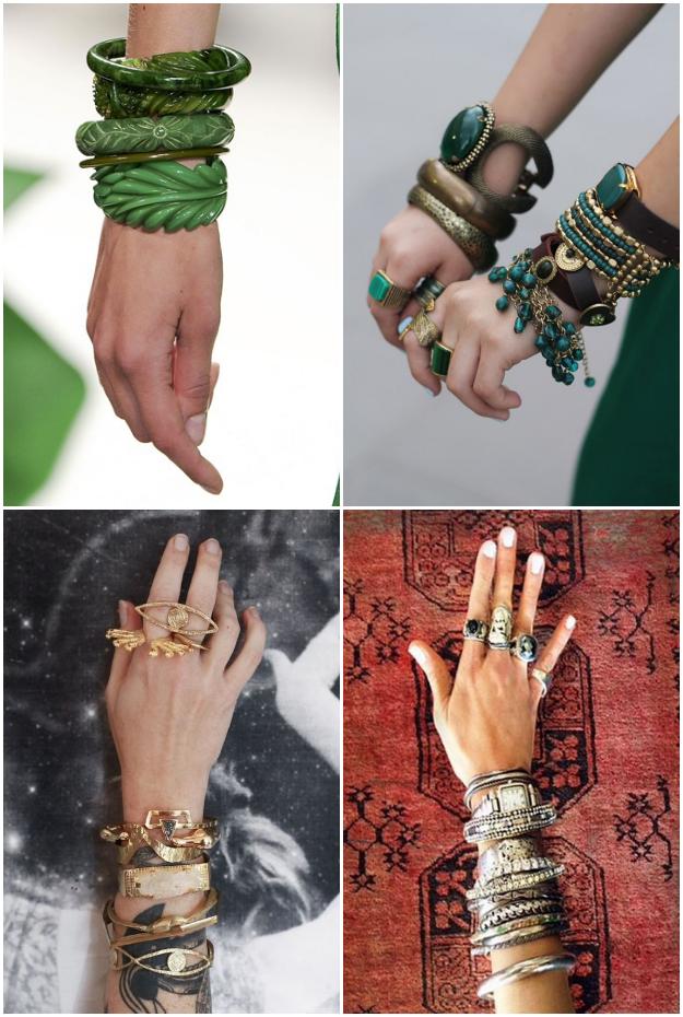 Stacking Bracelets, Crazyandco.com, Tanvii.com, Inspiration