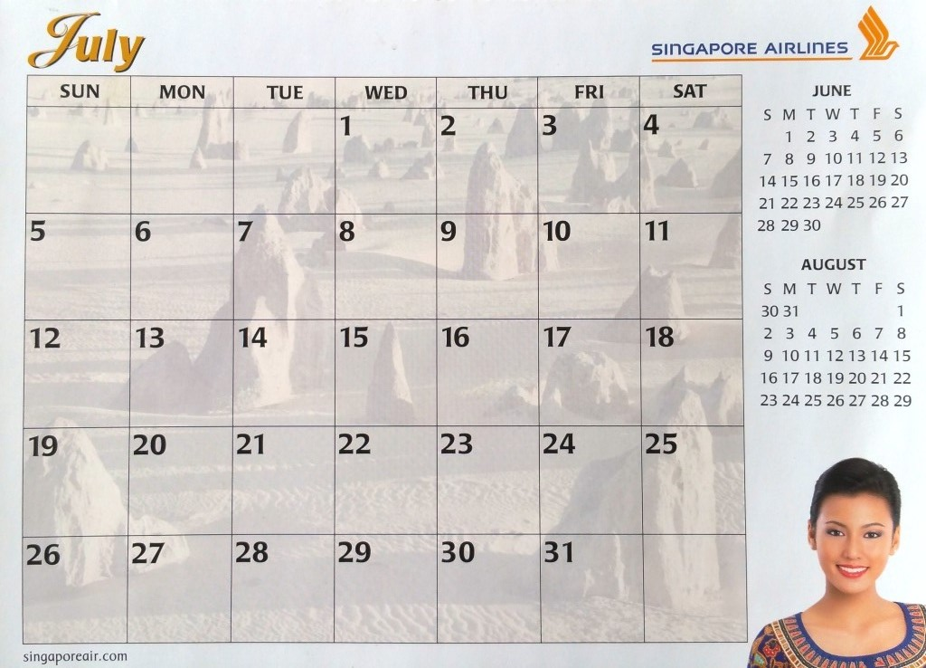 Year Calendar Sia : A singapore airlines sia stories of stewardesses stewards