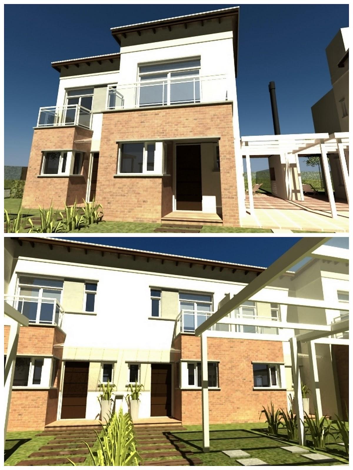 Gkq arquitectura emprendimiento viviendas en barrio privado for Vivienda arquitectura