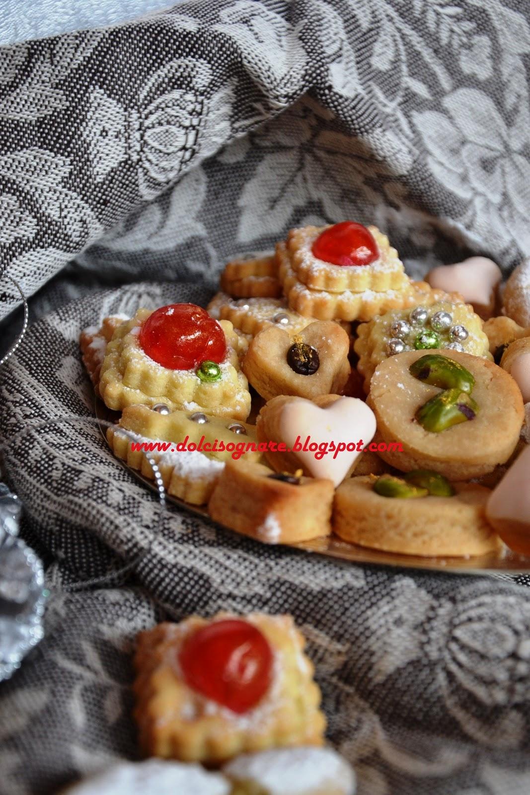 Célèbre DOLCISOGNARE : Dolcetti per il tè (o il caffè) di Natale ed un  IZ77