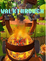 Catapult King walkthrough.