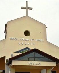 Gereja St. Joseph, Plentong
