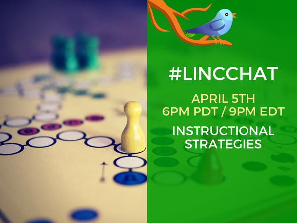 #LINCchat 6p.m. PDT/ 9 p.m. EDT