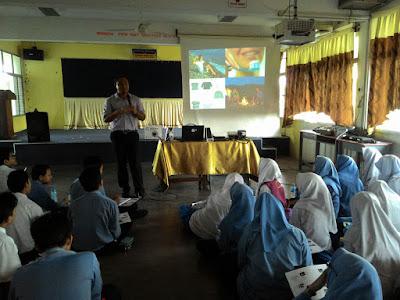 Ceramah Sains PT3 di SMK Bandar Baru Perda