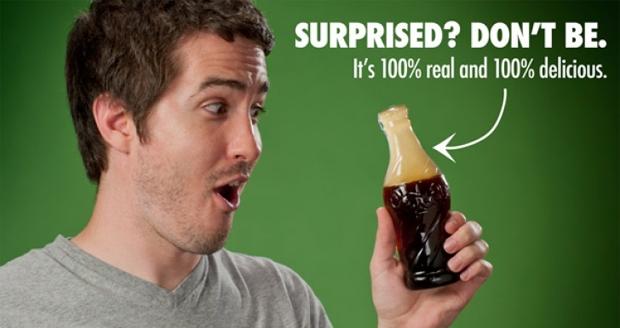 Giant Cola Bottle