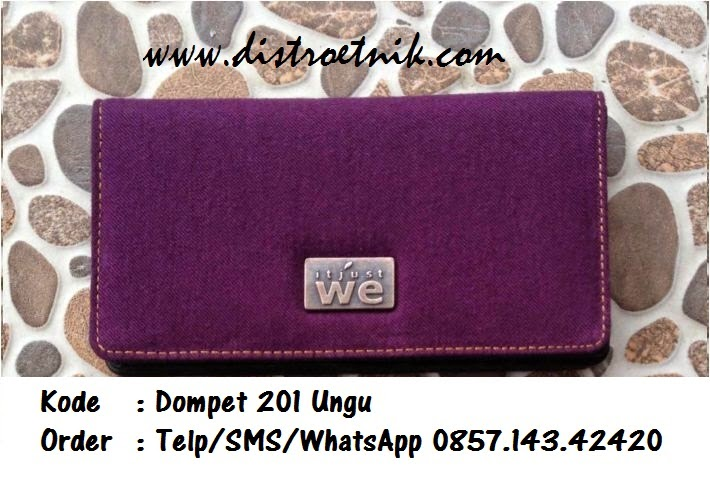 dompet jeans it just we wt 201 ungu