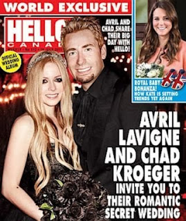 Avril Lavigne,Monique Lhuillier gown,black wedding dress,Black Lhuillier Wedding Dress