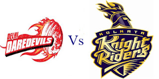 DD vs KKR Scorecard