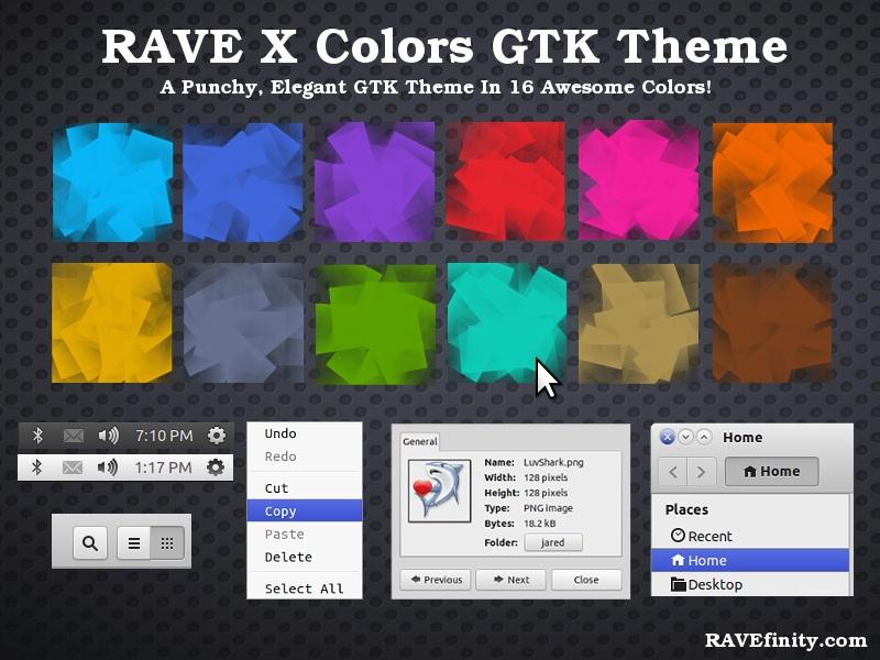 rave-x themes