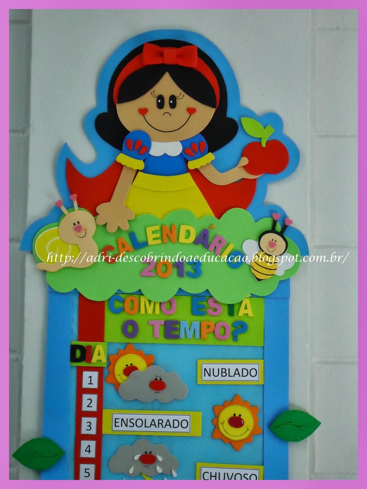Preferência ♥ Descobrindo a Educação Infantil ♥: Calendário Escolar Completo YL86