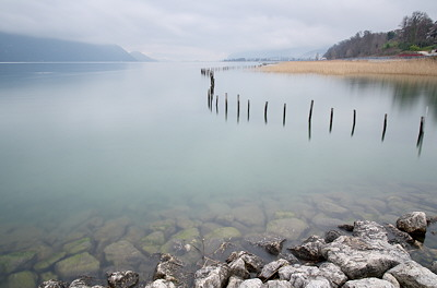 Photo of Bourget lake near Aix les Bains in France
