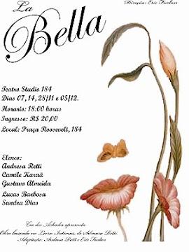Convite da peça La Bella