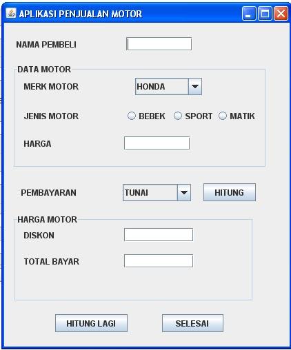 Herman Tech Latihan Java Dengan Netbeans 6 9 1 Soal Uts