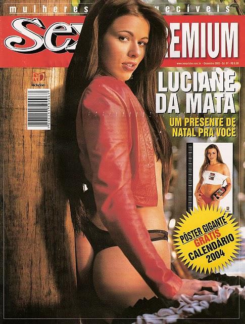 Confira as fotos da gata Luciane da Mata, capa da Sexy Premium de dezembro de 2003!