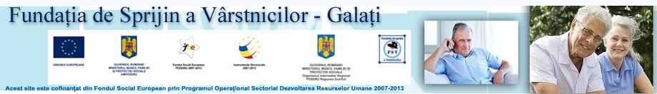 Fundaţia de Sprijinire a Vârstnicilor - Galaţi