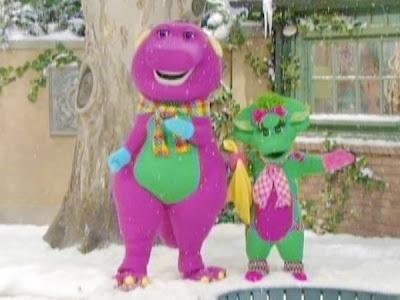 Barney Christmas DVD