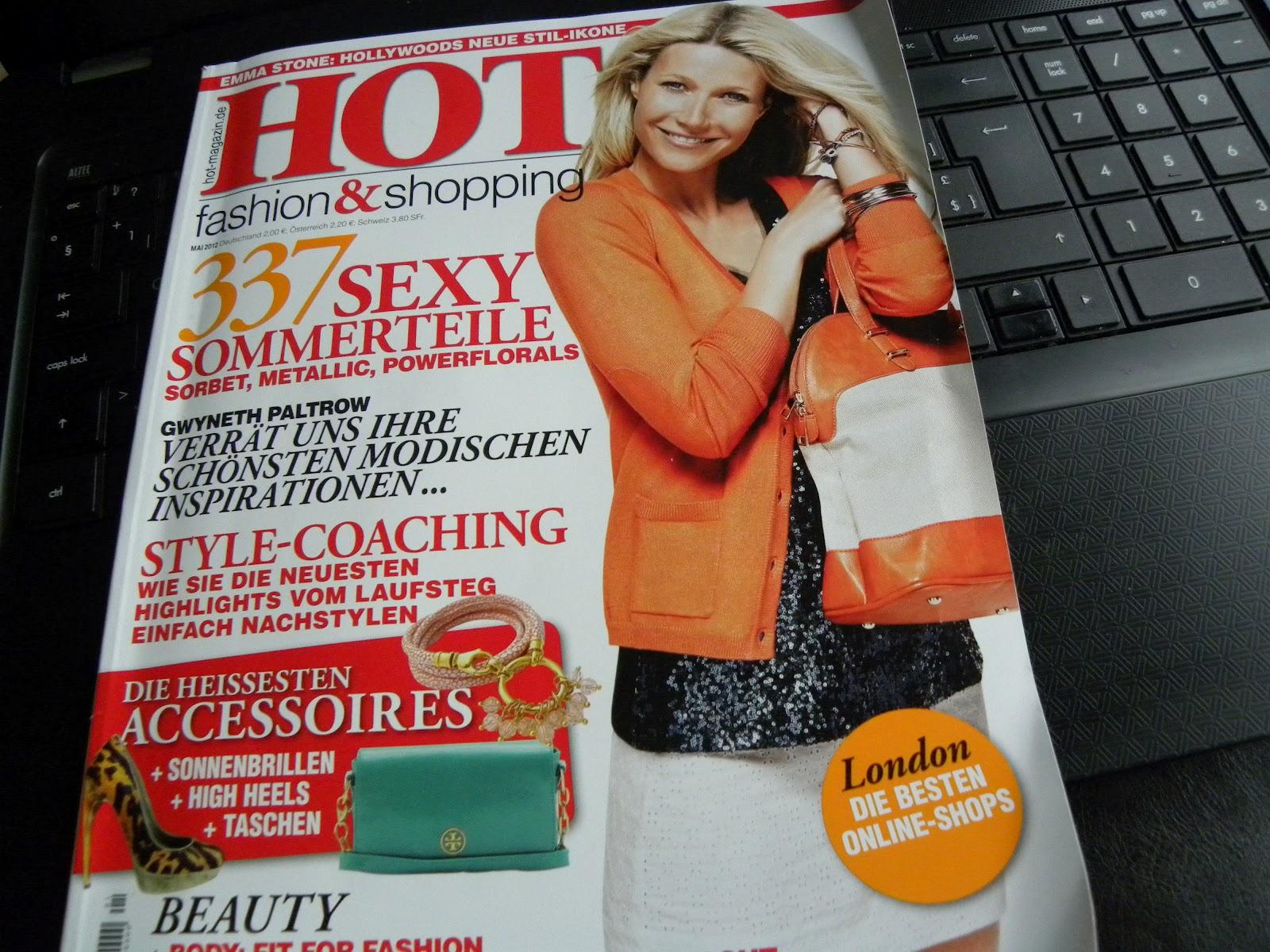 Hot magazin da habe ich doch mal ein tolles neues magazin namens hot