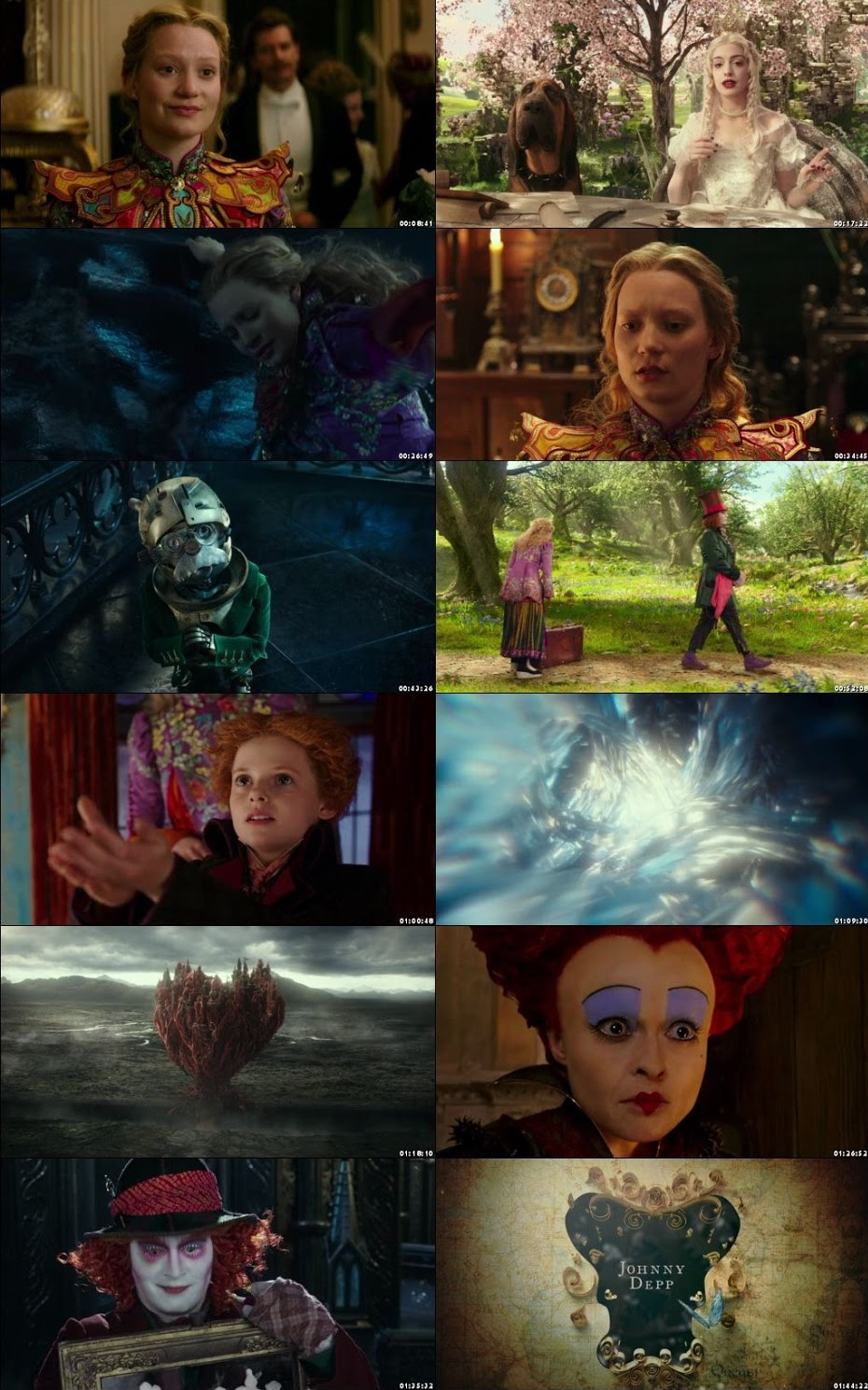 Alice Through The Looking Glass 2016 Movie Screenshots