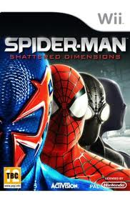 Spider-Man Shattered Dimensions wii