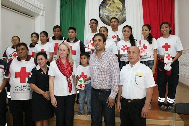 Inicia la colecta anual de la Cruz Roja en el puerto de Progreso