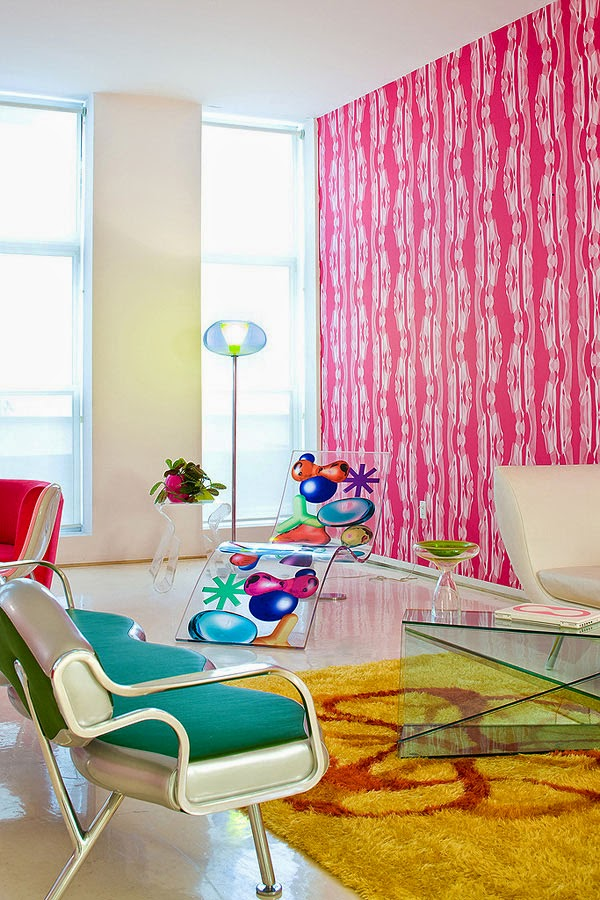 Decoración de Loft en New York por Karim Rashid 3