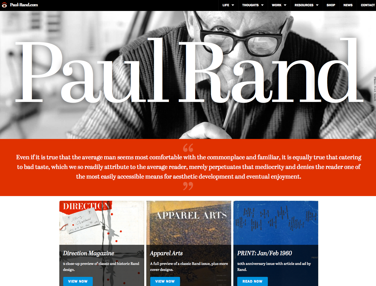 Paul Rand Beta Site
