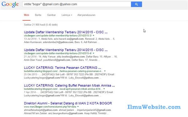 Trik Mendapatkan Ribuan Email Aktif Dalam Waktu 5 Menit | Belajar