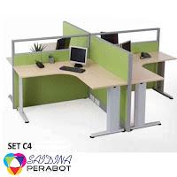 Office Partition | Pembekal Partition Pejabat | Saidina Perabot