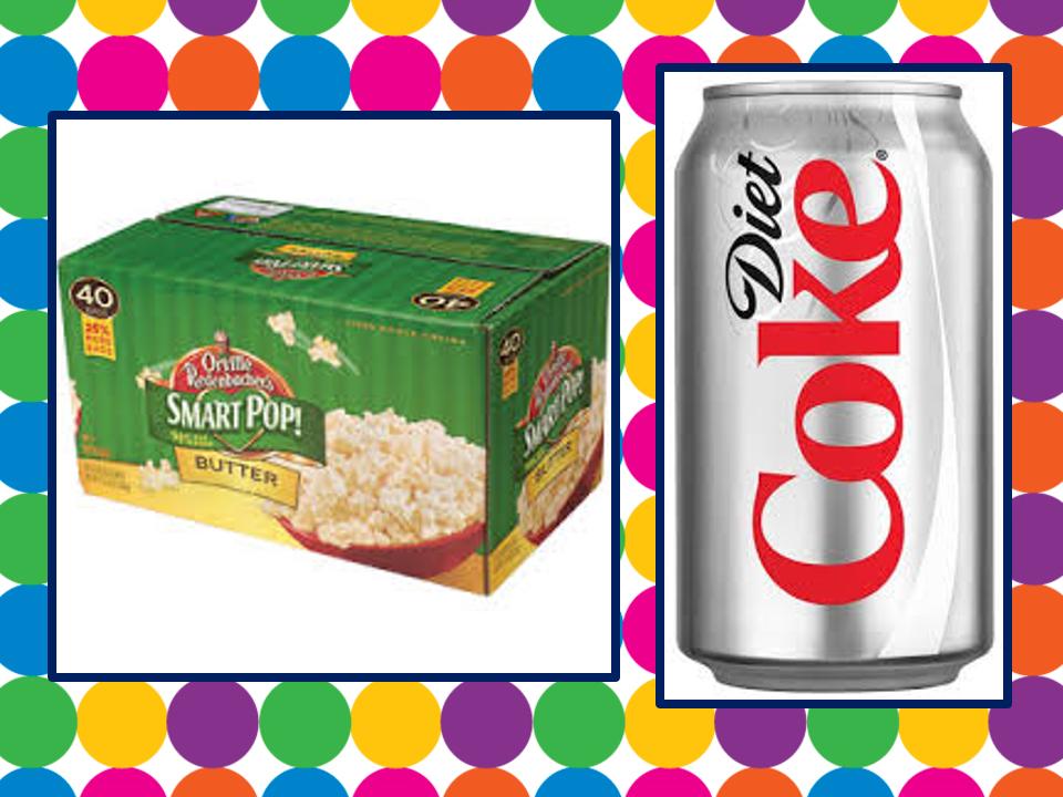 coke and popcorn its always sunny