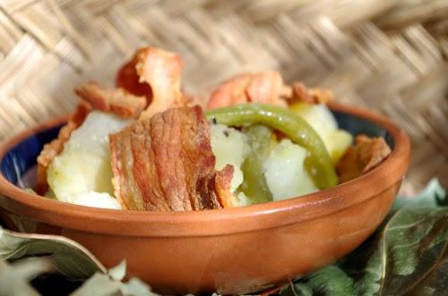 Potato and Pancetta