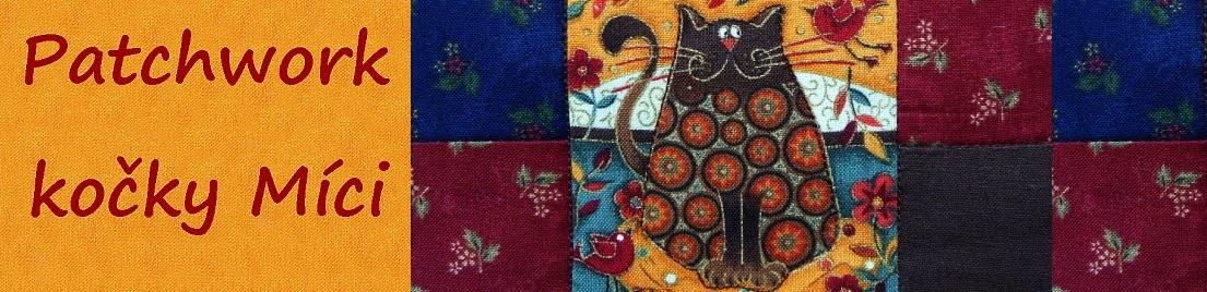 Patchwork kočky Míci