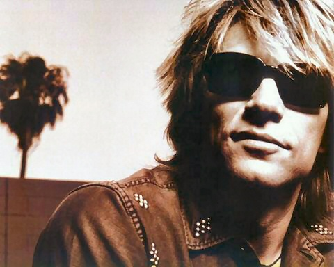 is for Bon Jovi, an inspirational muse