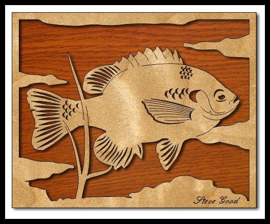Scrollsaw Workshop Bluegill Fishing Scroll Saw Pattern Adorable Scroll Saw Patterns