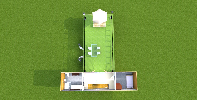 Maison container 2014 maison container for Maison container sous terre