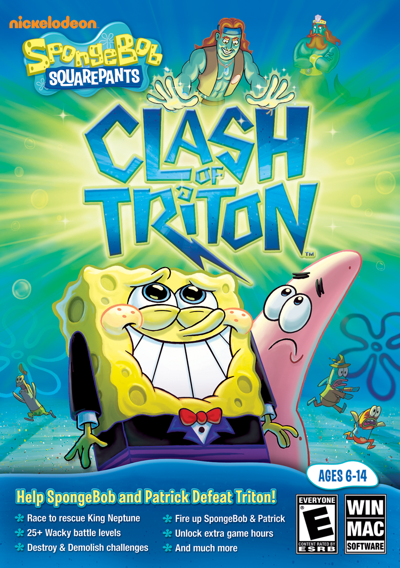 SpongeBob and The Clash of Triton PC Game