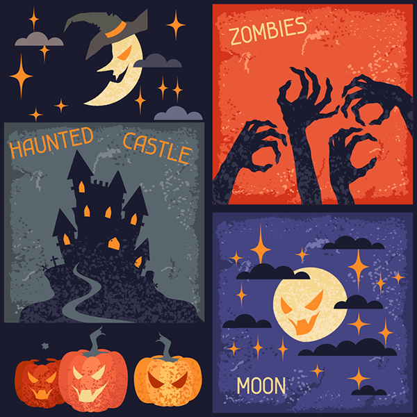 Imágenes siniestras de Halloween e