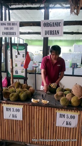 Organic durians...