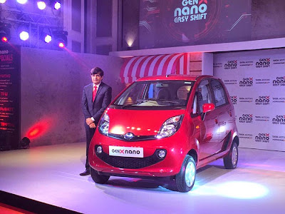 GenX Tata Nano Launching Photos