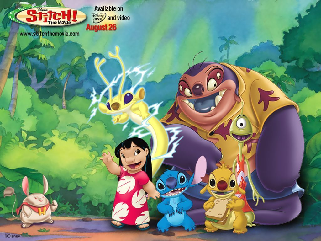 It's just a picture of Witty Pics of Lilo and Stitch