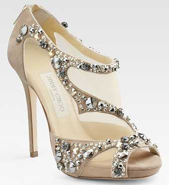 Jimmy Choo Bridal Shoes 2014
