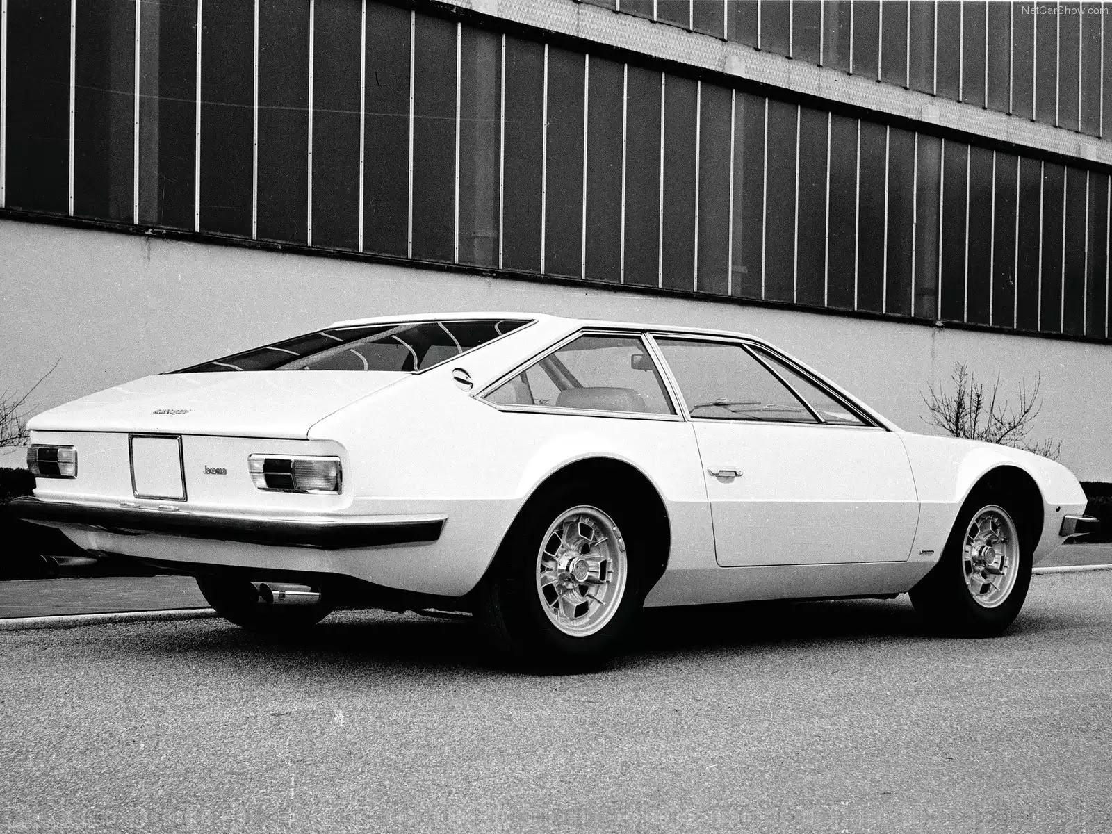 Hình ảnh siêu xe Lamborghini Jarama 1973 & nội ngoại thất