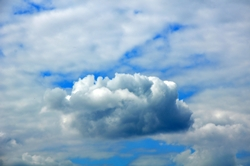 Zerknäuelte Wolke...