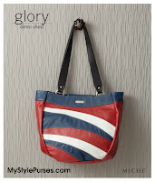  Miche Bags Glory Demi Shell June 2012 - Red, White &amp; Blue Patriotic Purse