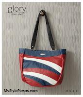 Miche Bags Glory Demi Shell June 2012 - Red, White & Blue Patriotic Purse