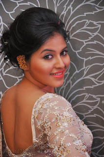 Anjali latest Glamorous pics in saree 001
