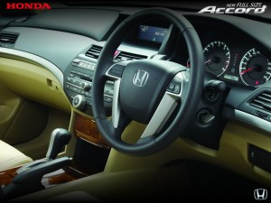 Interior Honda Accord 2013