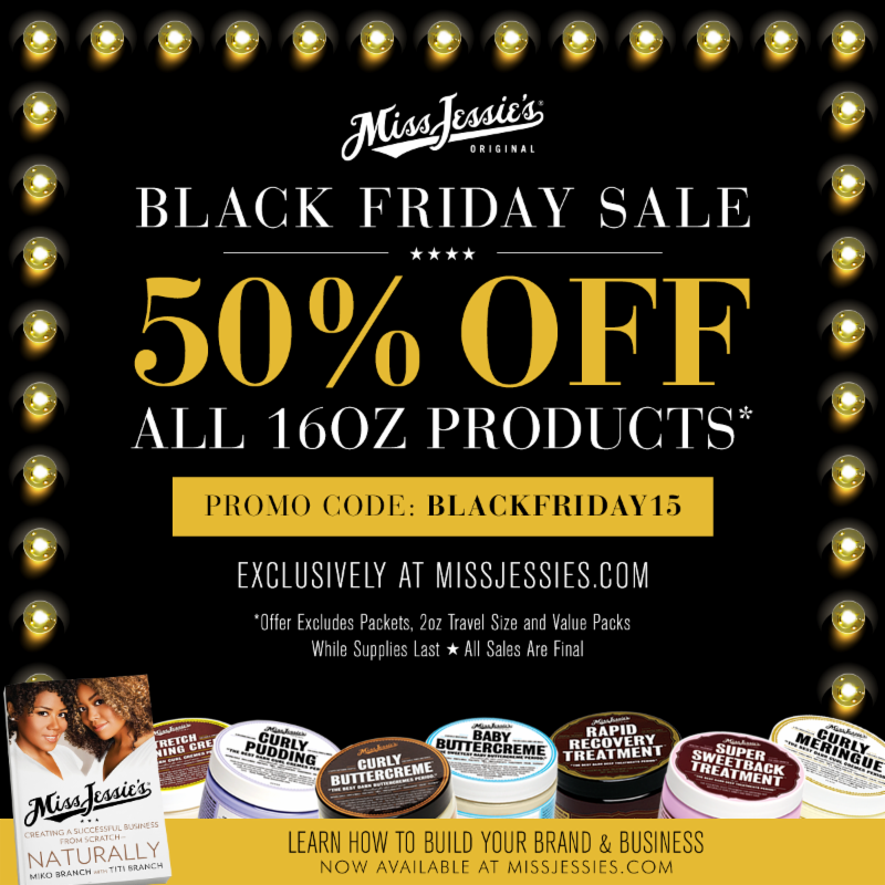 Natural hair products black friday sales