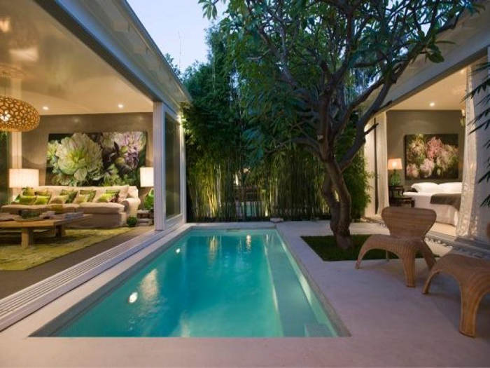 Here 39 s everything beautiful and drool worthy that inspires for House plans with pool in center courtyard